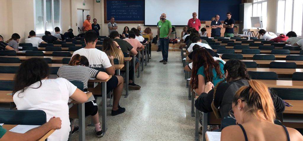 Más del 86% del alumnado presentado en la UCA aprueban la PEvAU en la convocatoria de septiembre