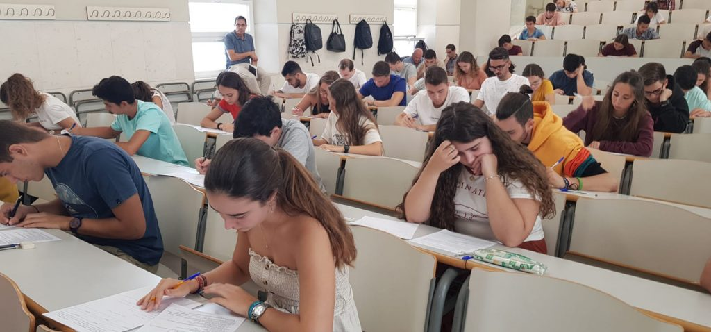 El 82,8% del alumnado aprueba las pruebas de acceso a la universidad en la convocatoria de septiembre