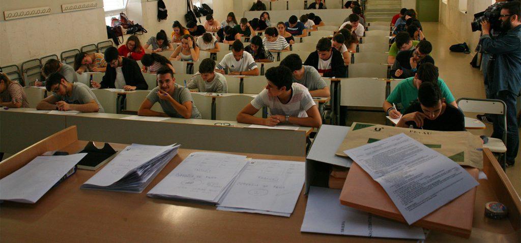 Las Pruebas de Acceso a la Universidad serán del 7 al 9 de julio en Andalucía